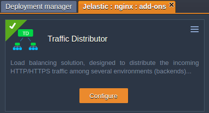 traffic-distributor